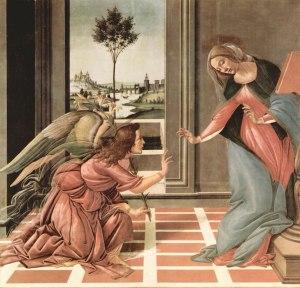 Sandro Botticelli, Verkündigung, 1489-90