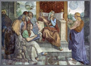 Joseph deutet die Träume Pharaos