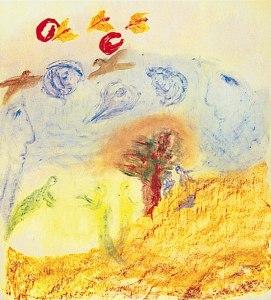 Rudolf Steiner, Elementarwesen. Skizze