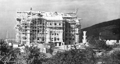 Zweites Goetheanum 1928