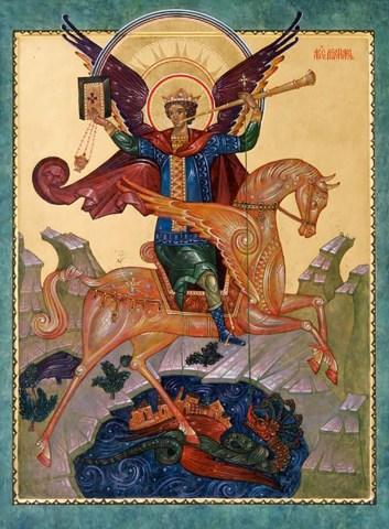 Apokalyptischer Michael, orthodox