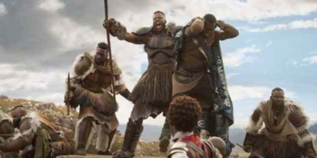 M'baku Saves T'Challa