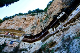 Monestary on a Cliff, Greece