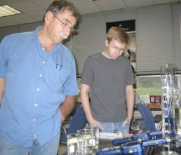 Dr. William Lovis and Andy Upton, via Upton