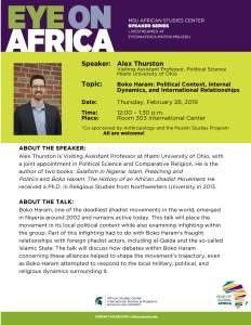 alex thurston lecture flyer