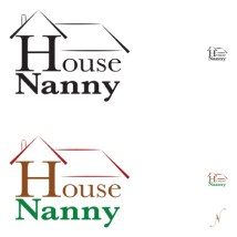 Another logo for another fictitious company. My assignment was to pick a small occupation and make up a fictitious company. I chose house sitting, and named it House Nanny. Basically it is a company that provides house sitters for anyone who needs someone to watch their house and take care of maintenance while they're out.