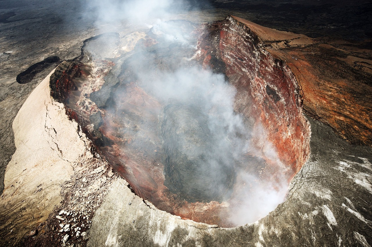 volcan colère