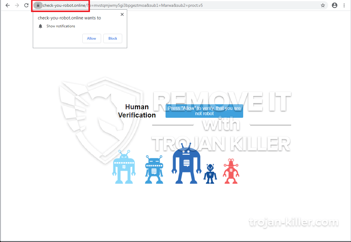 remove Check-you-robot.online
