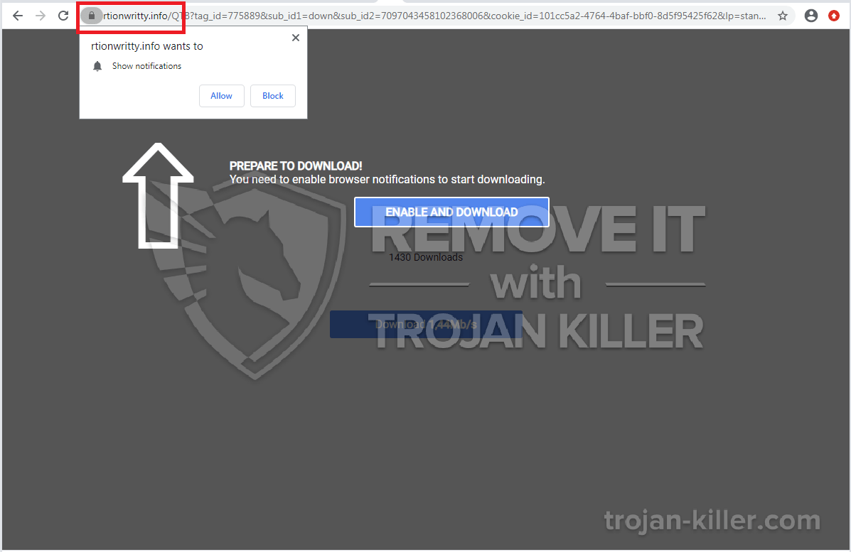 remove Rtionwritty.info