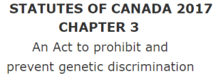 act to prohibit genetic testing, vaccine refusal, vaccine exemption, medical exemption, religious exemption, canadian constitution,