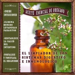 aceite esencial de oregano
