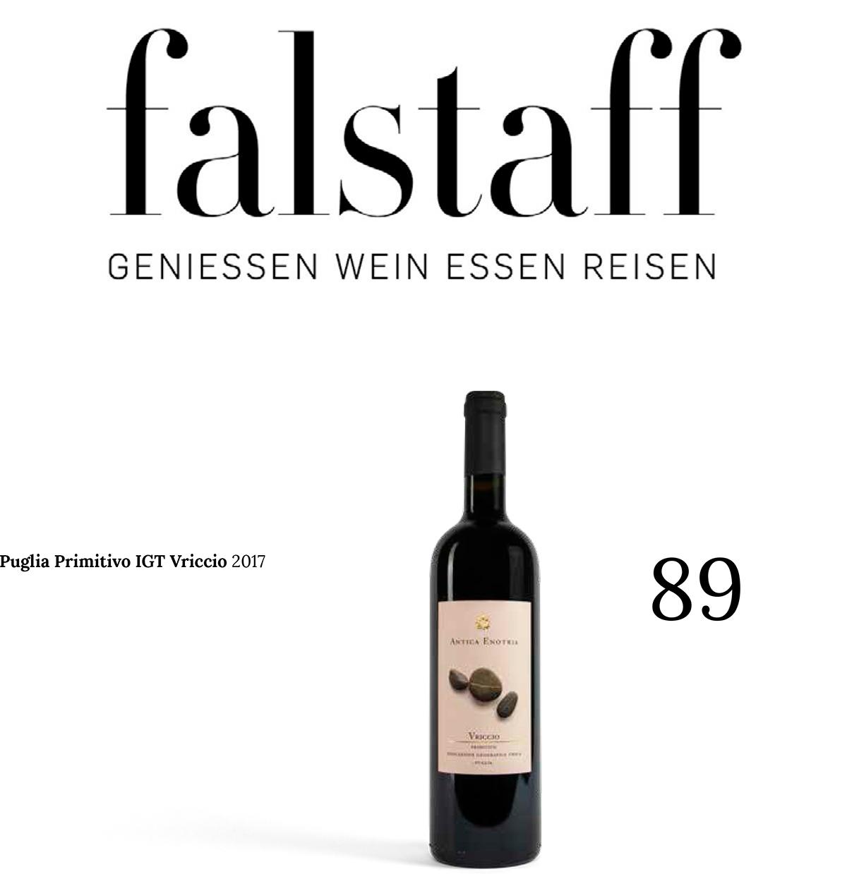 Falstaff – Vriccio