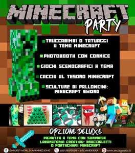 Cavallino Matto Cerveteri Minecraft party
