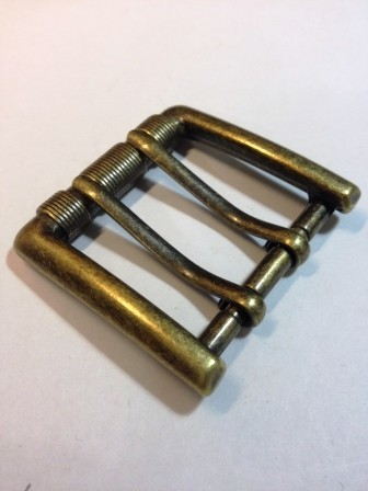 Пряжка для ремня с двумя язычками для ремня шириной 40 мм | 220р. | 5
