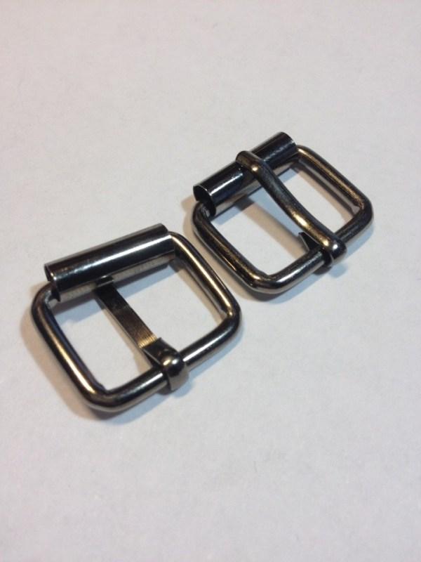 Пряжки с роликом 20 мм черный никель Фурнитура для кожгалантереи | 25р. | 3