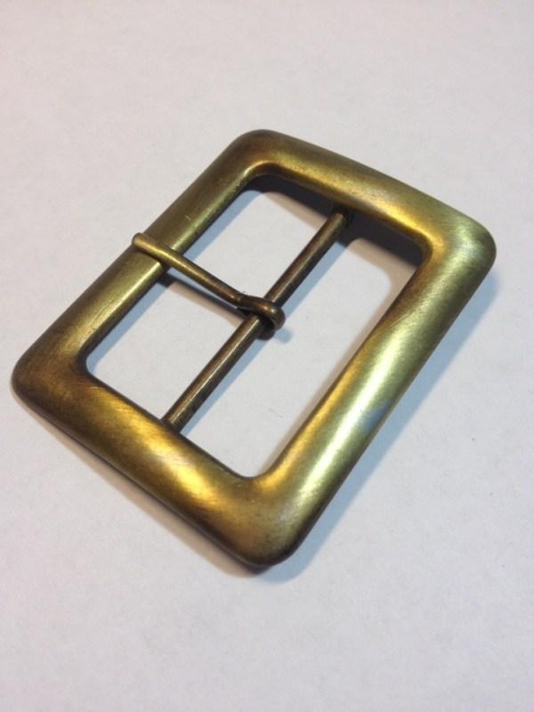 Пряжка 40 мм старая латунь сатин Фурнитура для кожгалантереи | 90р. | 3