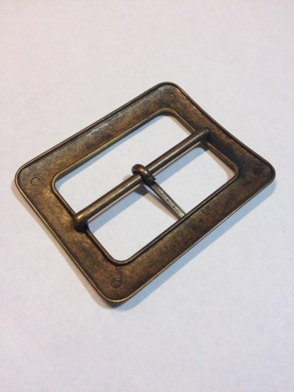 Пряжка 40 мм старая латунь сатин Фурнитура для кожгалантереи   90р.   2