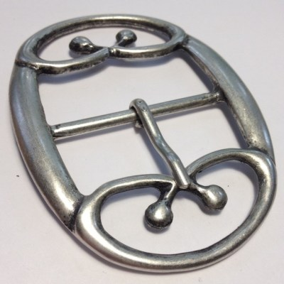 Пряжка античное серебро