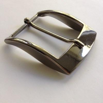 Пряжка для ремня 40 мм черный никель Италия