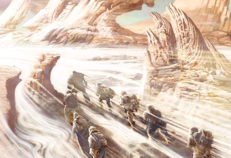 """Image de couverture de """"La horde du contrevent"""", de Alain Damasio"""