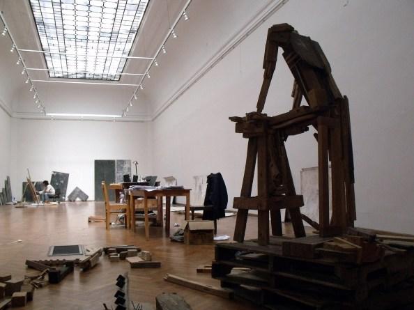 18_VISTA FRONTAL DEL TALLER EN MUSEO BLANES - TOMSICH 2010