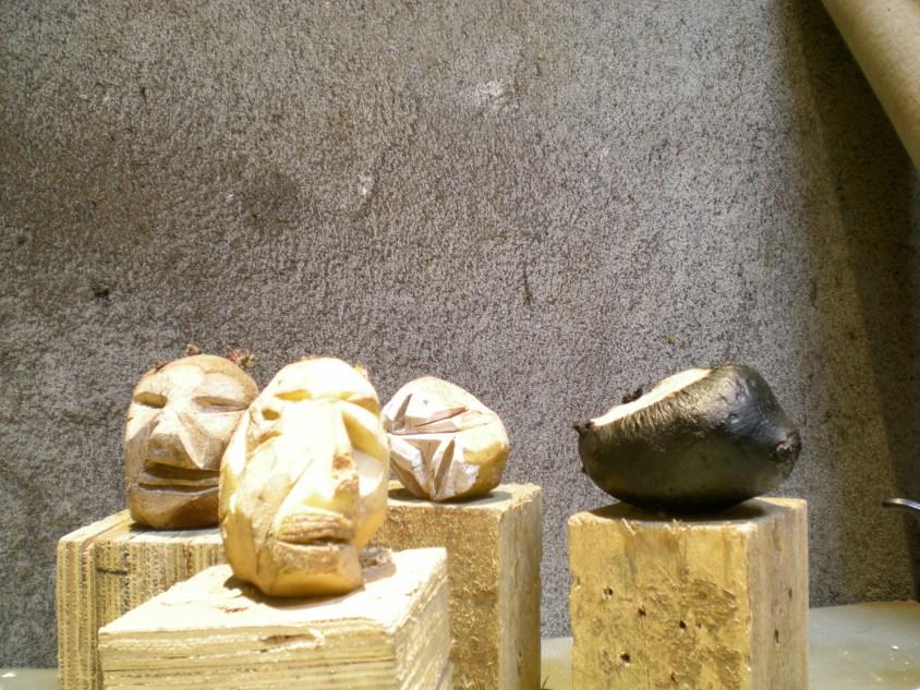Cabezas en Atelier Lindolfo (2008) F. Tomsich