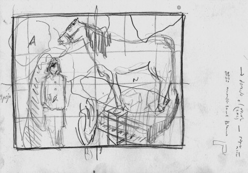 STUDY FOR AN OPEN ALLEGORY