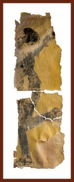 Study for Open Allegories, 1, 200 x 80 cm, 2016