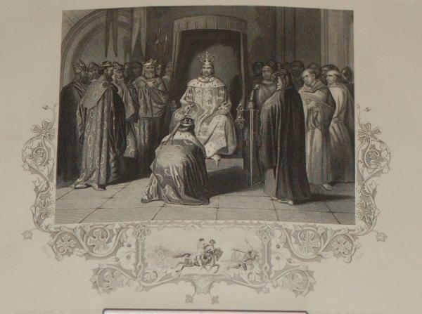antique pring richard 11 knighting irish kings