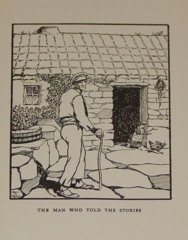 Jack B Yeats Print for Sale, The Man Who Told The Stories