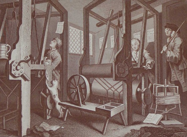 Industry and Idleness antique print after William Hogarth