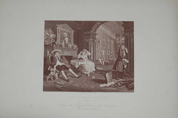 T. E Nicholson Antique print after William Hogarth