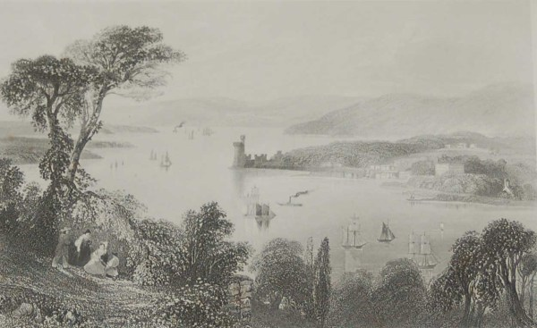 Cork River-Cove of Cork-Cove Harbour-Youghall Abbey