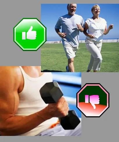 Deporte para pacientes anticoagulados