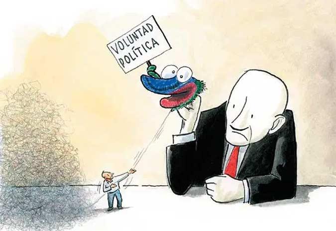 Voluntad política: ¿Cuánto se hace en verdad?