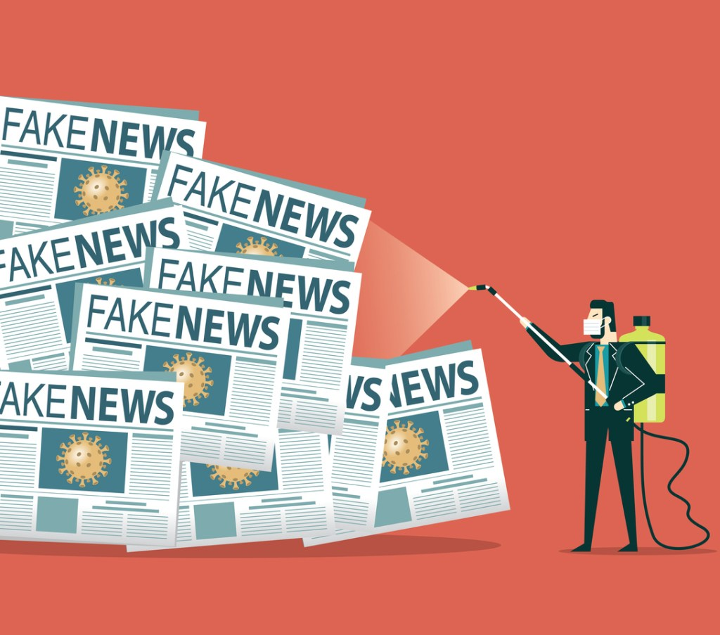 Identify fake news with information quality checks