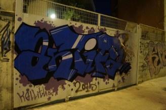 Antifa Graffiti Μοσχάτο 04/2017