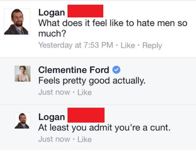 Clementine Ford man bashing quotes