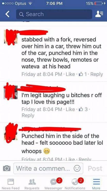 """Bad Girls Advice"" group celebrates violence against men"