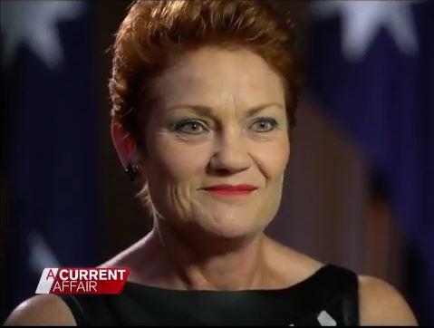 Pauline Hanson criticises feminism