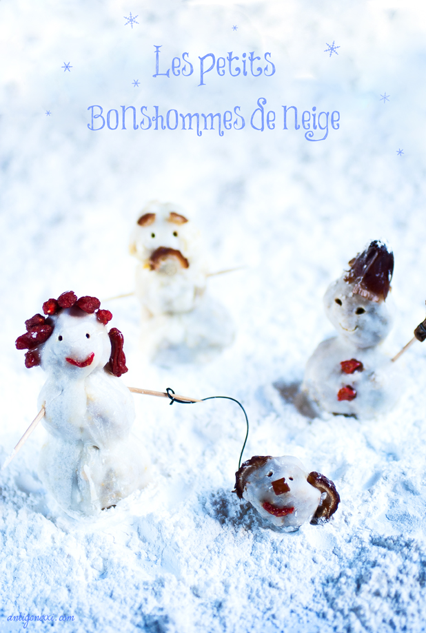 Les petits bonshommes de Noël - Antigone XXI