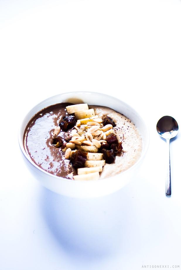 Le petit-déjeuner de la demi-lune