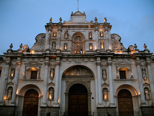 Antigua's Cathedral