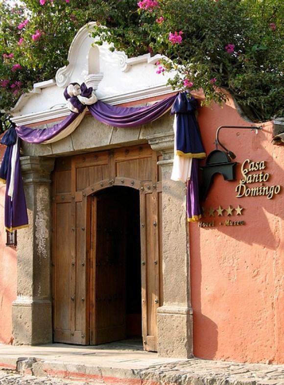 Casa Santo Domingo Entrance