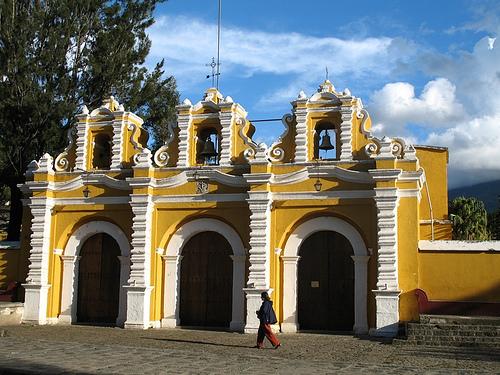 El Calvario Church in La Antigua Guatemala