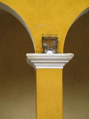 Arch column in Jocotenango
