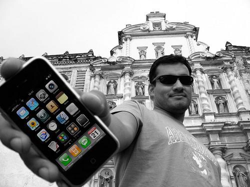 iPhone 3G on Sale in La Antigua Guatemala