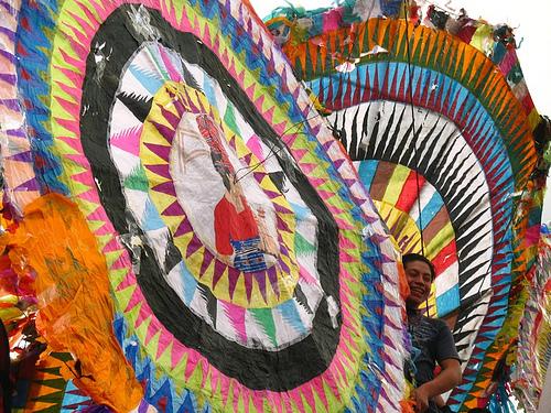 Giant Kites of Santiago Sacatepéquez