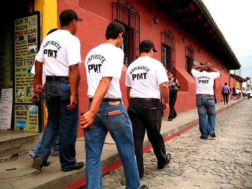 Antigua Guatemala Municipal Traffic Police Trainees