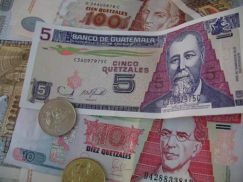 Guatemalan Currency Sampler